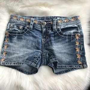 Miss Me girls shorts size 14